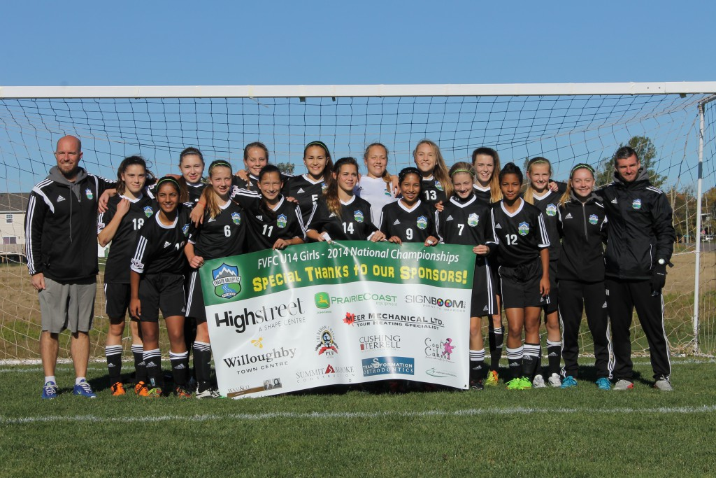 Fraser Valley FC  U-14 Girls