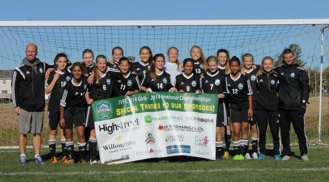 Supporting Our Local Teams: Fraser Valley FC U-14 Girls