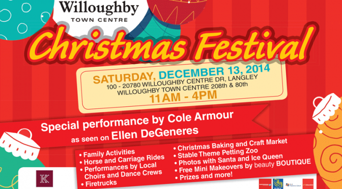 Join us for our Christmas Festival