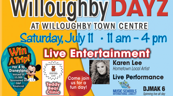 Willoughby DAYZ – July 11, 2015
