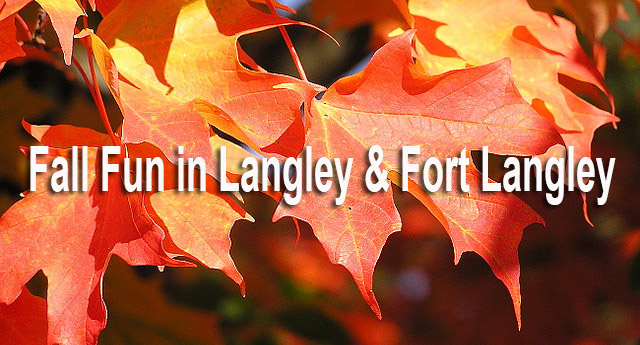 Fall Fun in Langley & Fort Langley