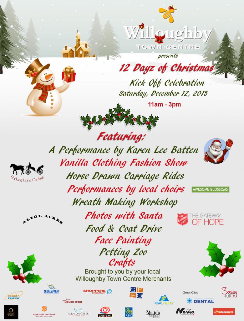 12 Dayz of Christmas - December 12, 2015