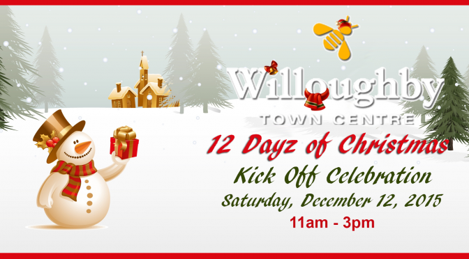 Langley Holiday Event at Willoughby Town Centre