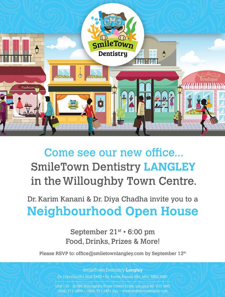 SmileTown Dentistry Langley Open House