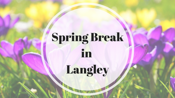 spring break and activities in langley. Black Bedroom Furniture Sets. Home Design Ideas
