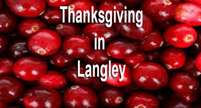 Things to do for Thanksgiving in Langley BC