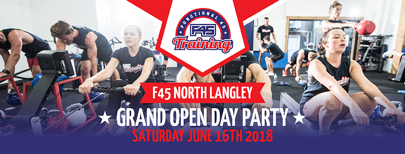 F45 Grand Opening