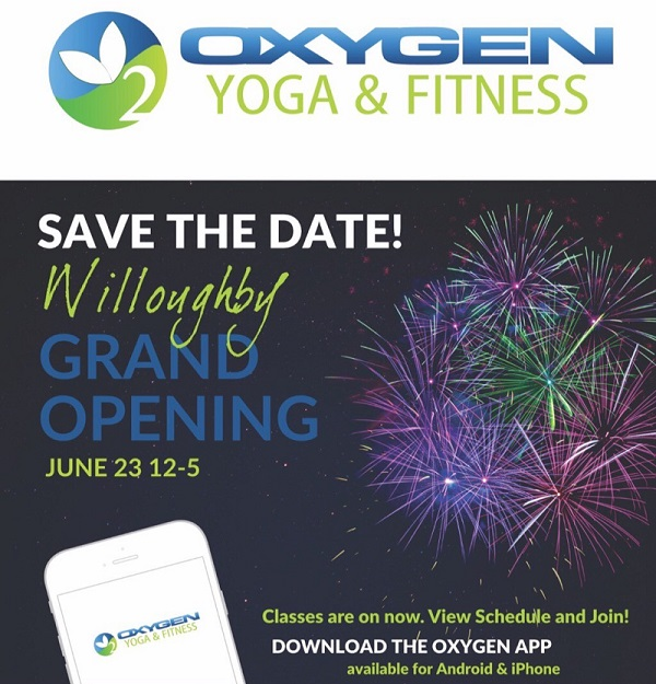 Oxygen Yoga Grand Opening