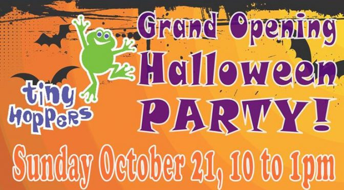 Tiny Hoppers Daycare Grand Opening Halloween Party