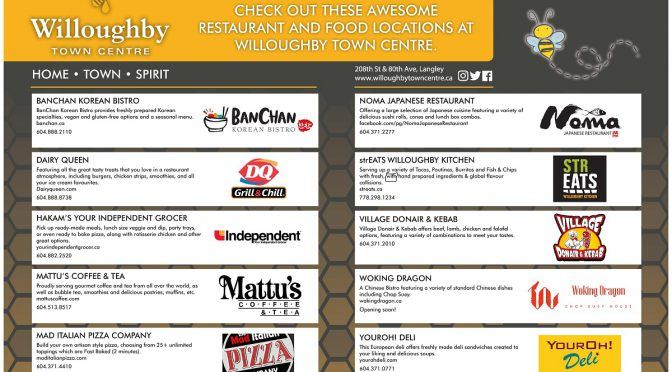 Featured Restaurants and Food Locations