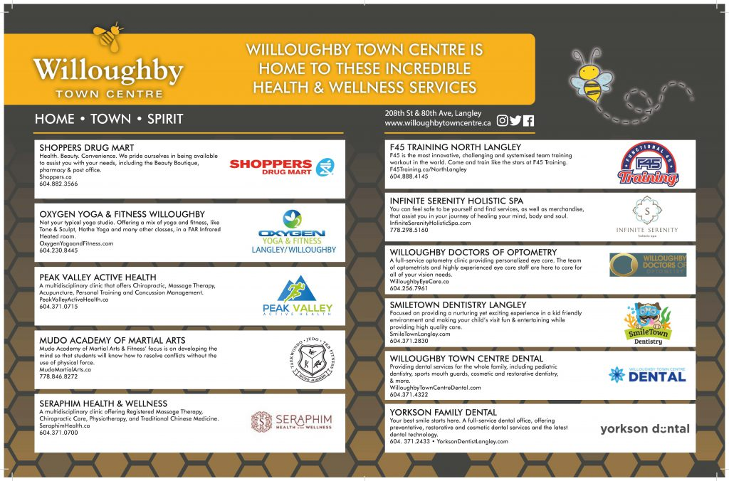 Health & Wellness Businesses
