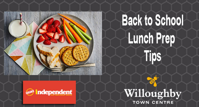 Lunch Prep your way to School Year Success