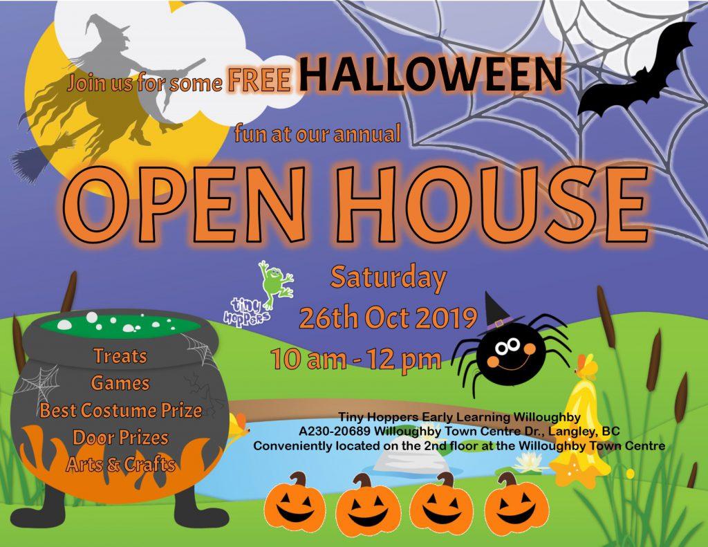 Halloween Open House