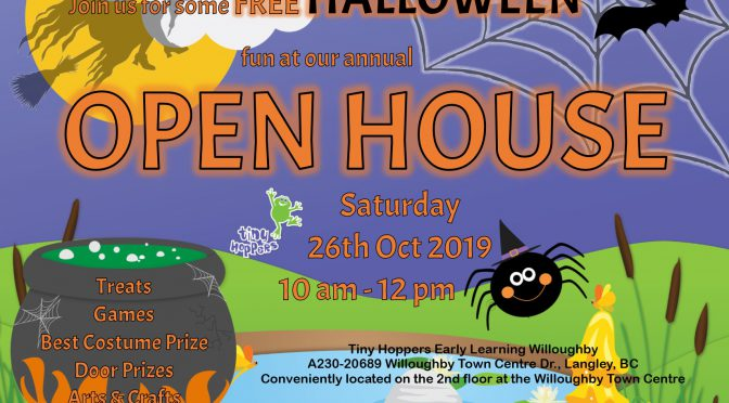 Tiny Hoppers Halloween Open House