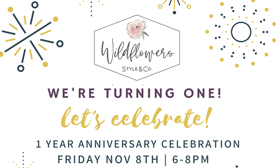 Wildflowers Style & Co. Celebrates One Year Anniversary