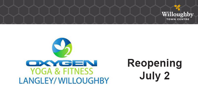 Oxygen Yoga & Fitness Willoughby Reopening