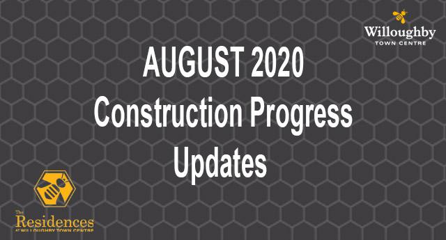 Construction Updates August