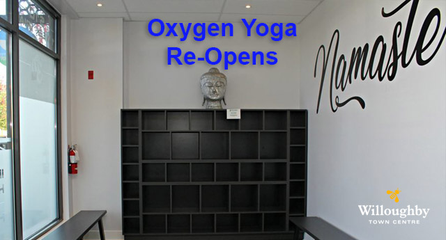Oxygen Yoga Re-Opening