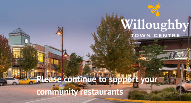 Please Support Your Community Restaurants